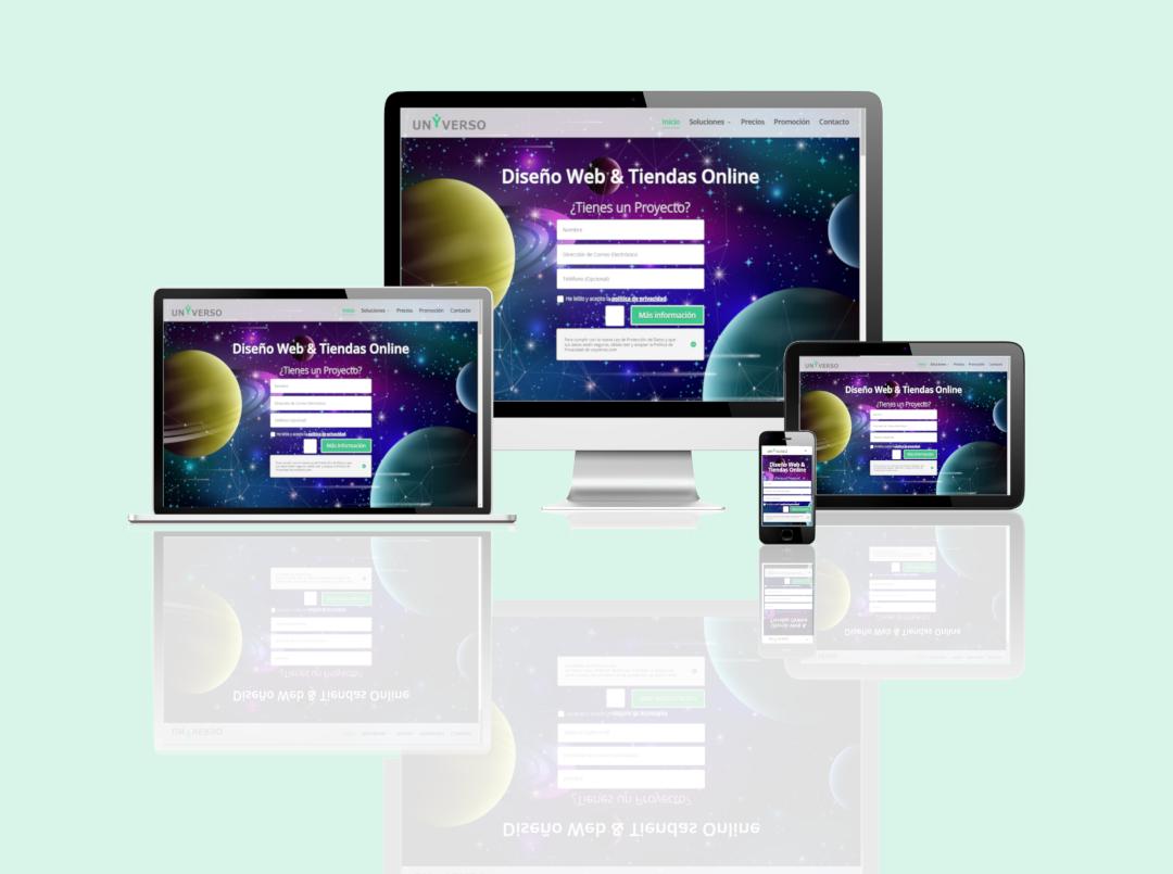 Diseño Web & Tiendas Online UNYVERSO