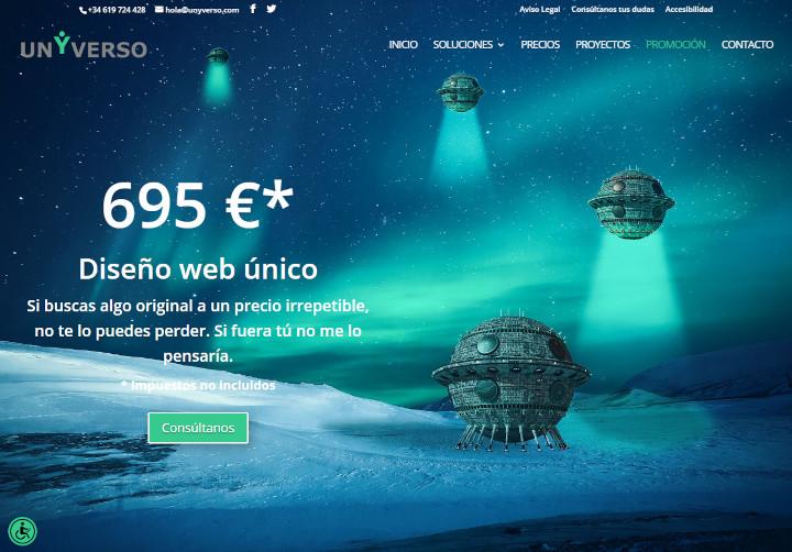 Promoción Diseño Web & Tiendas Online